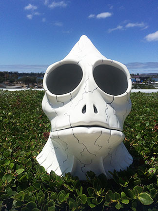 Sleestak skull at San Diego Comic Con